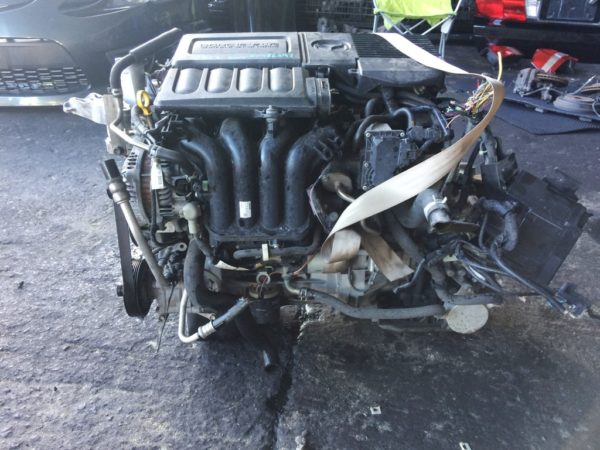 Двигатель Mazda ZY - 486597 CVT FF DE5FS 161 000 km комп 1
