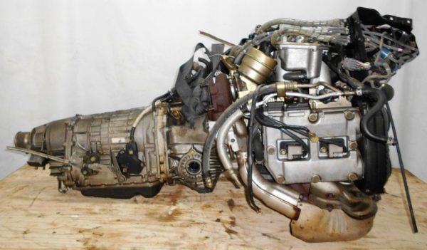 Двигатель Subaru EJ20-TT - B150261 AT TV1B4YВCAB FF 4WD BH5 EJ206DXCBE 101 000 km 00′ комп 4