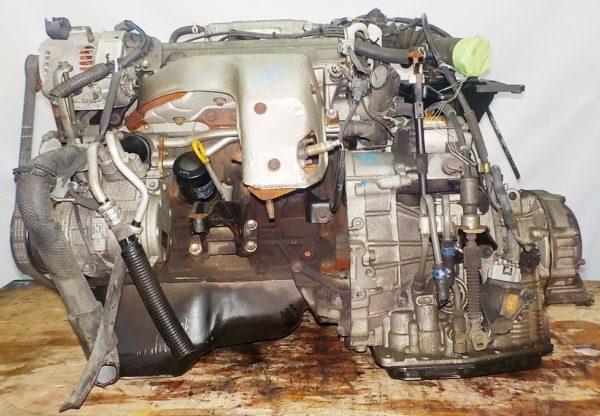 Двигатель Toyota 5S-FE - 1065081 AT A541F FF 4WD Gracia коса+комп 1