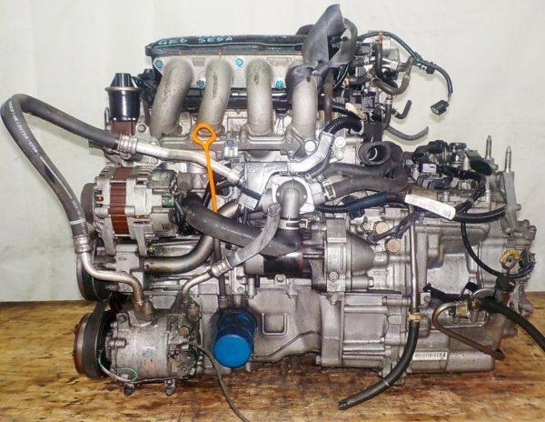 Двигатель Honda L13A - 4409780 CVT SE5A FF GE6 коса+комп 1
