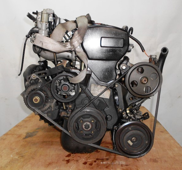 Двигатель Toyota 4E-FE - 0418056 MT C140 FF EL41 77 000 km трамблер коса+комп 3