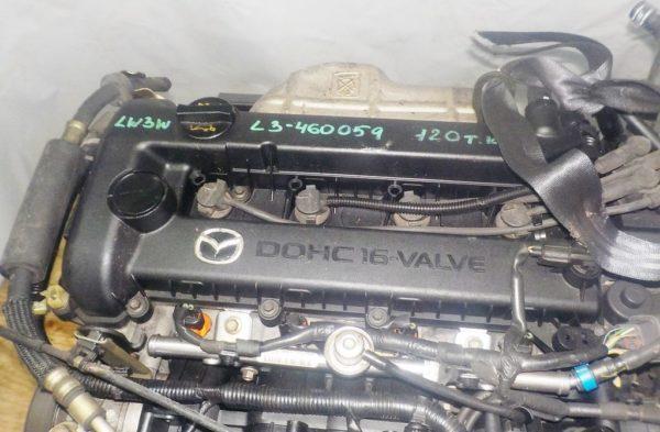 Двигатель Mazda L3 - 460059 AT FF LW3W DOHC 120 000 km коса+комп 2