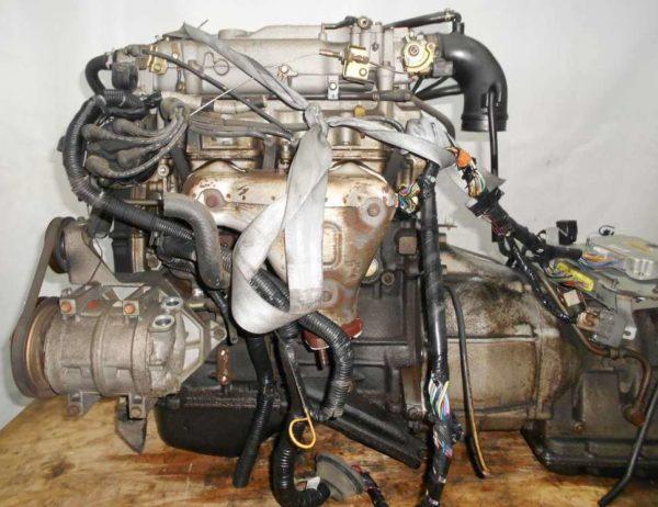 Двигатель Mazda FE - 13528 AT FR SGEW коса+комп 1