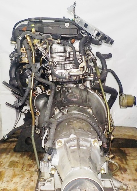 Двигатель Toyota 1G-FE - 6976934 AT 03-70LS 35000-2C400 FR BEAMS коса+комп 8