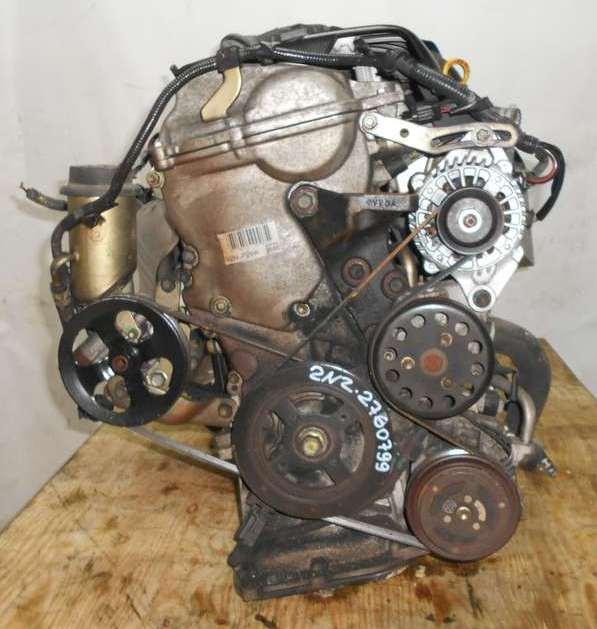 Двигатель Toyota 2NZ-FE - 2760799 AT U441E-03A FF NCP20 153 000 km без датчика скорости коса+комп 3