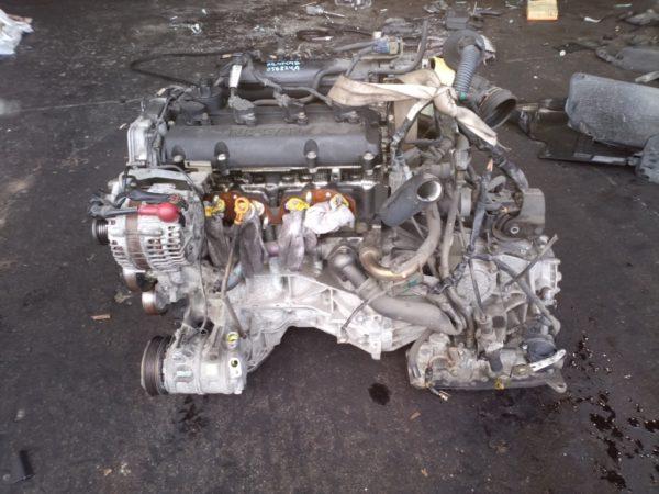 Двигатель Nissan QR25-DE - 056824A AT RE4F04B FF RC24 144 500 km коса+комп 1