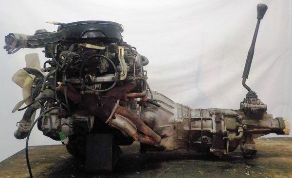 Двигатель Toyota 7K - 0223811 5MT FR carburator 2