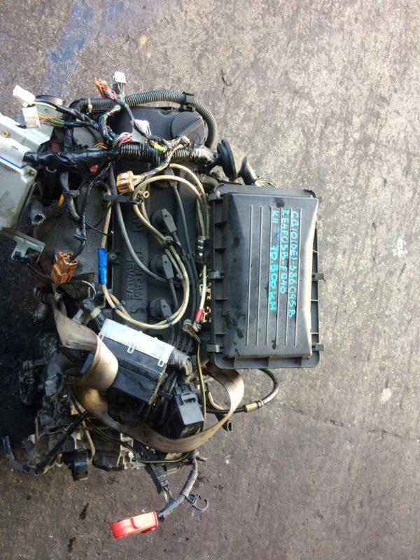 Двигатель Nissan CG10-DE - 386045B AT RE4F03B FQ40 FF K11 70 500 km коса+комп 2