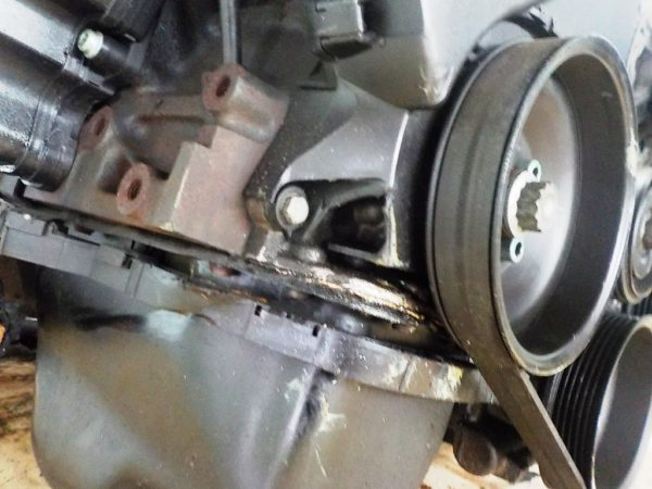 Двигатель Volkswagen AHS - 050154 AT FF 5