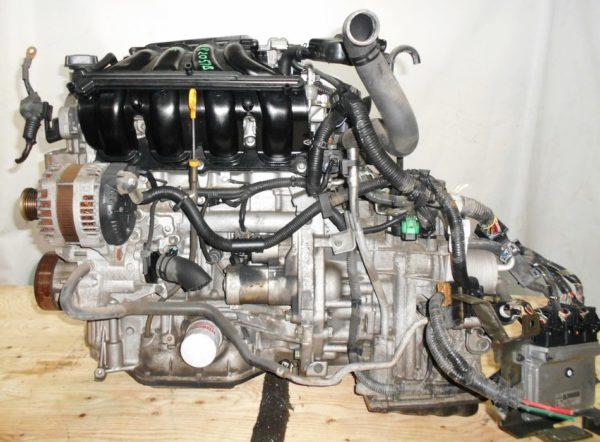 Двигатель Nissan MR20-DE - 082051B CVT RE0F10A FF C25 129 000 km коса+комп 1