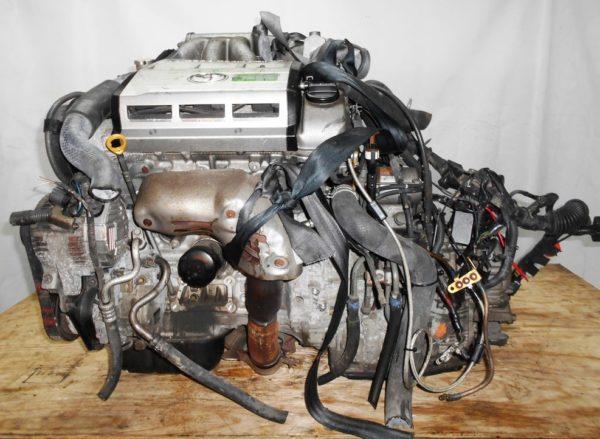 Двигатель Toyota 2MZ-FE - 0113267 AT A541F-04A FF 4WD MCV25 69 000 km коса+комп 1