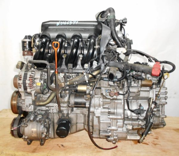 Двигатель Honda L13A - 1166371 CVT SWRA FF GD1 коса+комп 1