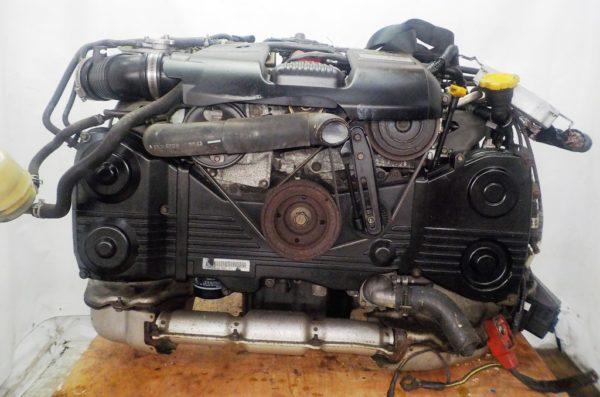 Двигатель Subaru EJ20-TT - B546213 AT TV1B4YBDAB 4WD BH5 EJ206DXDBE комп 3
