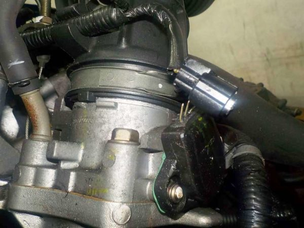 Двигатель Honda K24A - 2508364 AT MGTA FF Accord коса 4