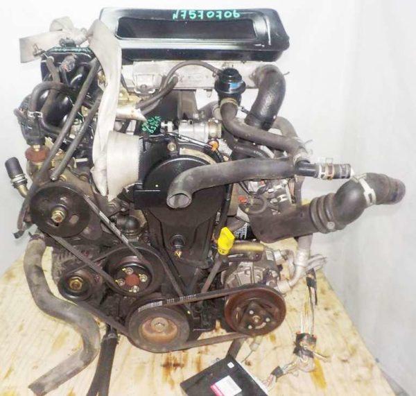 Двигатель Daihatsu EF-DET - 7570706 AT YBS5 FR J151G 115 193 km 3