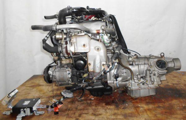 Двигатель Daihatsu EF-DET - 7498784 AT FR JBS5 J131G 96 000 km коса+комп 1