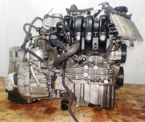 Двигатель Volkswagen BLF - 079660 AT FF WWWZZZ1K25W197305 90 000 km коса+комп 4
