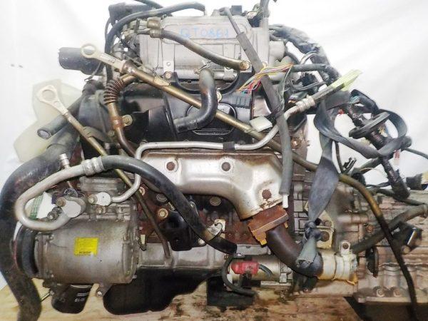 Двигатель Mitsubishi 6G72 - QT0861 AT FR 4WD Delica катушка коса+комп 1