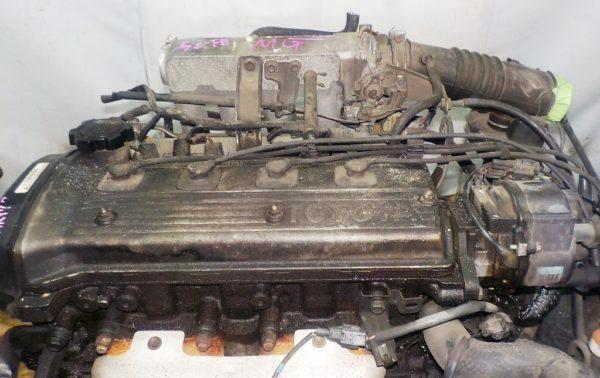 Двигатель Toyota 5E-FE - 0880195 AT A244F FF 4WD трамблер коса+комп 2