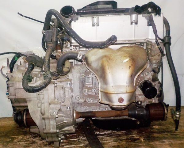 Двигатель Honda K24A - 5110046 AT MFHA FF RB1 коса+комп 7