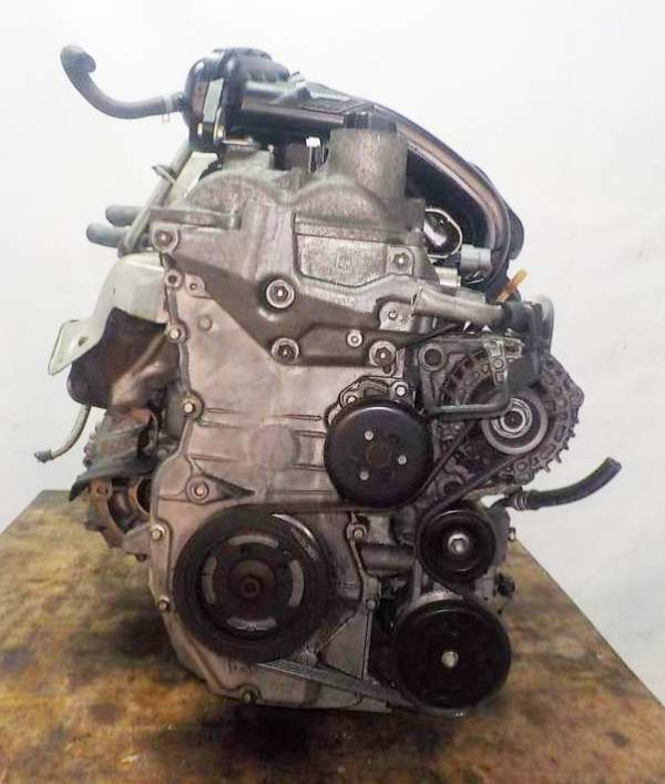 Двигатель Nissan HR15-DE - 224465A CVT RE0F08B GH54 FF YGZ11 111 703 km коса+комп 3