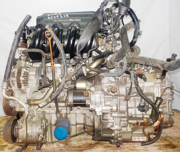 Двигатель Honda L15A - 3039338 CVT SFBA FF GK1 коса+комп 1