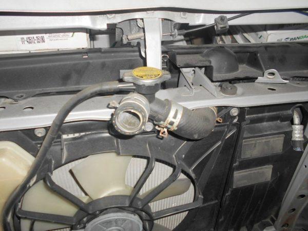 Ноускат Toyota Porte нет L фары (W111812) 8