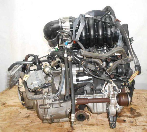 Двигатель Peugeot PSA - 02535550 206 AT FF 10FX7E 98 000 km коса+комп 1