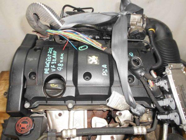 Двигатель Peugeot PSA - 02535550 206 AT FF 10FX7E 98 000 km коса+комп 2