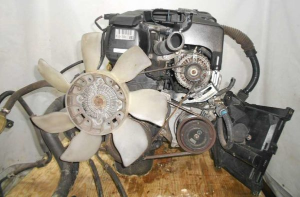 Двигатель Toyota 1G-FE - 6979707 AT 03-70LS A42DE-A04A FR GX110 BEAMS 115 000 km коса+комп 4