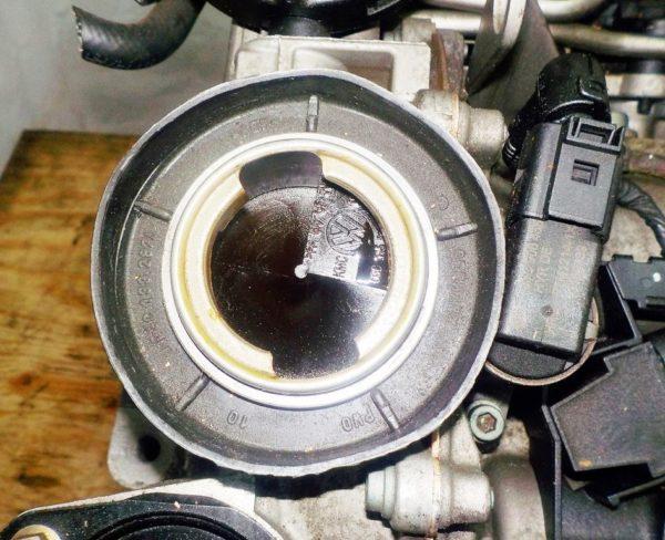 Двигатель Volkswagen BAG - 082027 AT FF Touran 59 000 km 7