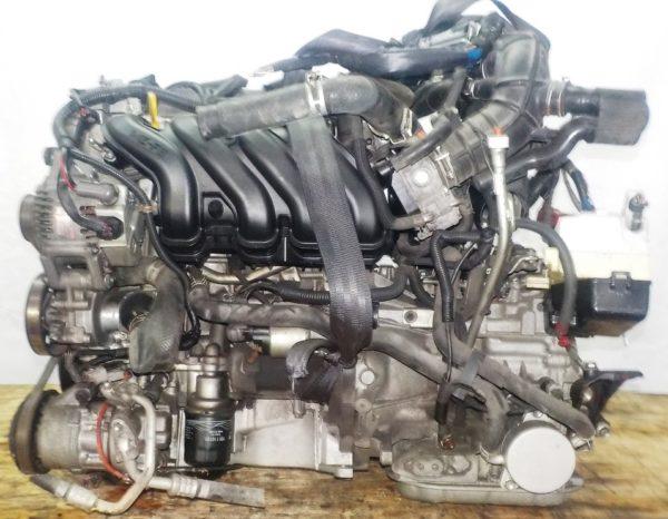 Двигатель Toyota 1NZ-FE - C278205 CVT K210-02A FF NCP81 161 244 km электро дроссель коса+комп 1