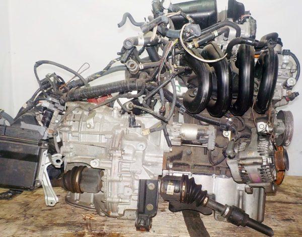 Двигатель Toyota 2SZ-FE - 1493680 CVT K410 FF коса+комп 6