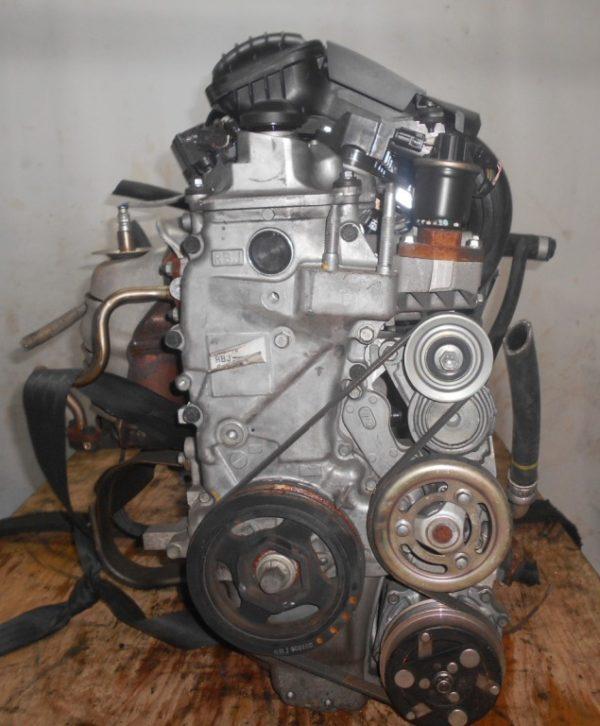 Двигатель Honda LDA - 2014398 CVT SBLA FF ZE2 коса+комп 2