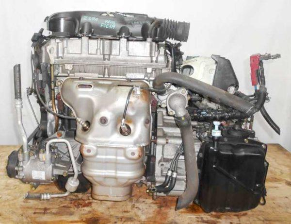 Двигатель Mitsubishi 4G15 - CX0057 CVT F1C1A FF Z27A 53 862 km 1