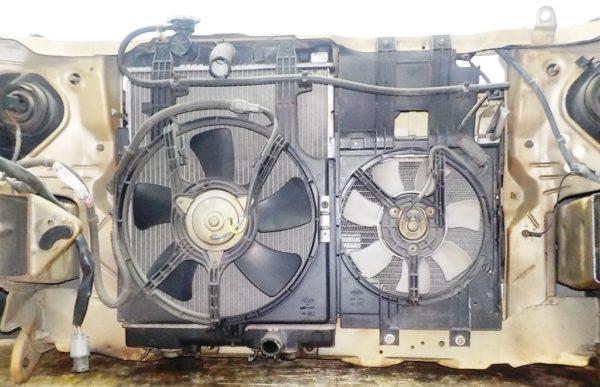 Ноускат Nissan Cube 10, (2 model), брак радиатора (E081842) 6