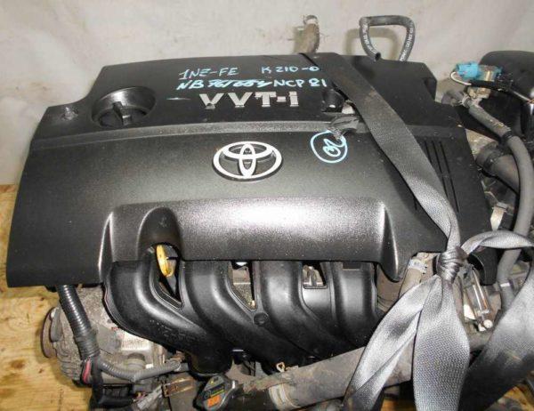 Двигатель Toyota 1NZ-FE - B761654 CVT K210-02A FF NCP81 151 000 km электро дроссель коса+комп 2