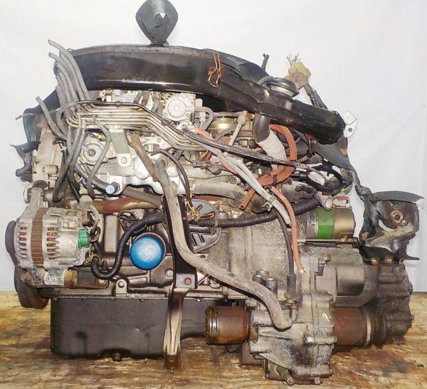 Двигатель Honda D13B - 1404502 AT S48A FF carburator 4