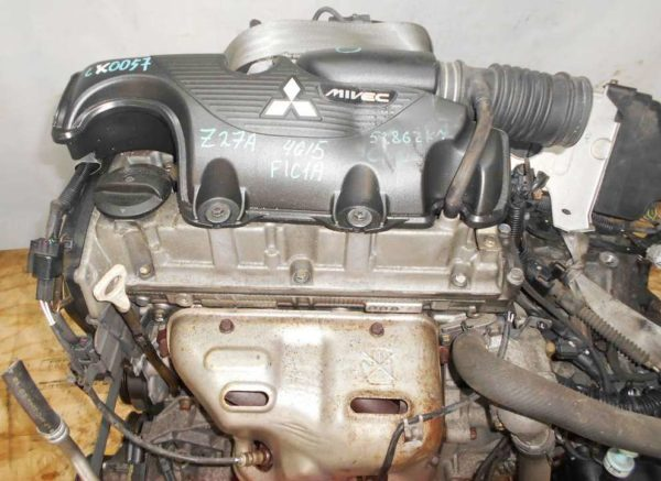 Двигатель Mitsubishi 4G15 - CX0057 CVT F1C1A FF Z27A 53 862 km 2