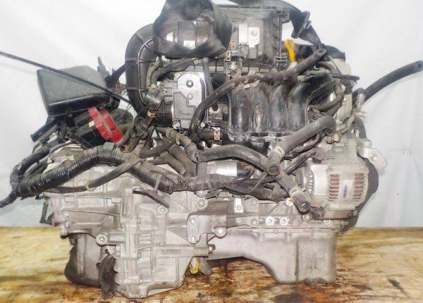 Двигатель Suzuki K12B - 1021011 CVT FF ZC71S 96 527km коса+комп 4