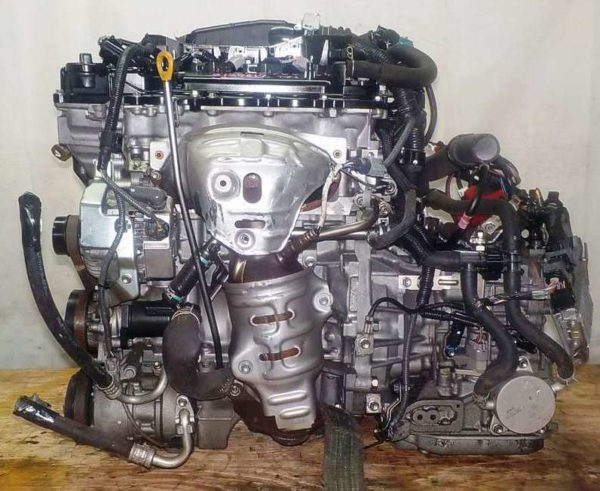 Двигатель Toyota 1NR-FE - 8127617 CVT K411-01A FF NSP120 коса+комп 1