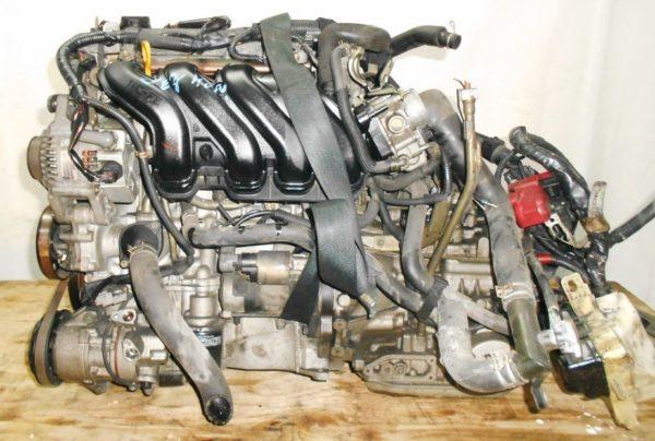 Двигатель Toyota 1NZ-FE - БЕЗ НОМЕРА CVT K210-02A FF NCP81 86 000 km электро дроссель коса+комп 1