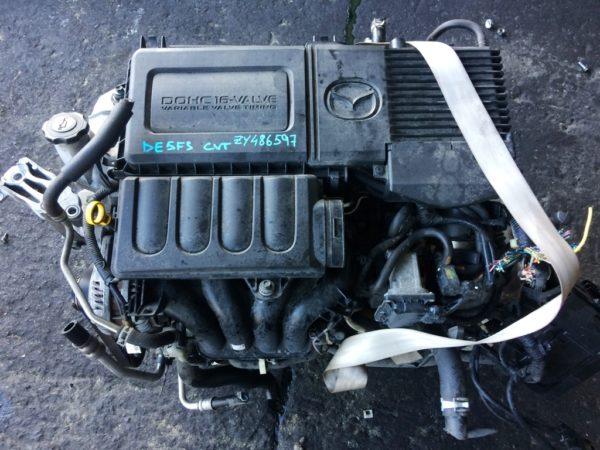 Двигатель Mazda ZY - 486597 CVT FF DE5FS 161 000 km комп 2