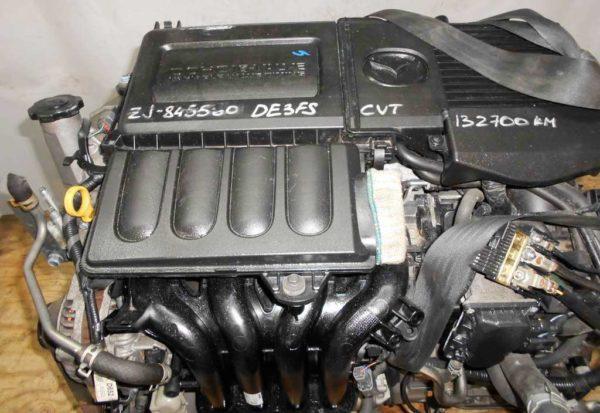 КПП Mazda ZJ CVT FF DE3FS 2