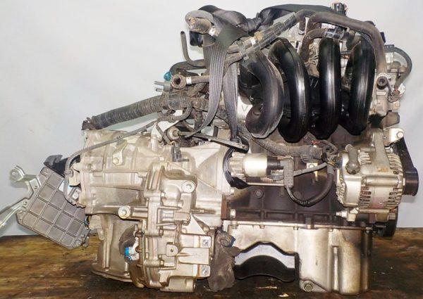 Двигатель Toyota 2SZ-FE - 1534656 CVT K410 FF коса+комп 5