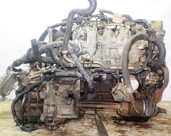Двигатель Nissan KA24-DE - 137443U AT FF с датчиком скорости коса+комп 5