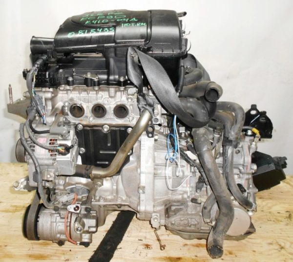 Двигатель Toyota 1KR-FE - 0818435 CVT K410-04A FF KSP90 111 000 km 1