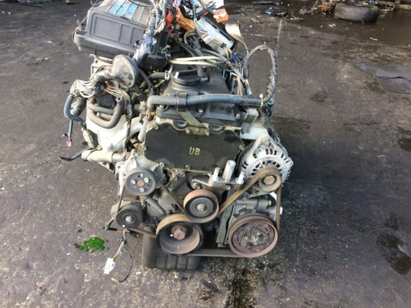 Двигатель Nissan CG10-DE - 386045B AT RE4F03B FQ40 FF K11 70 500 km коса+комп 3