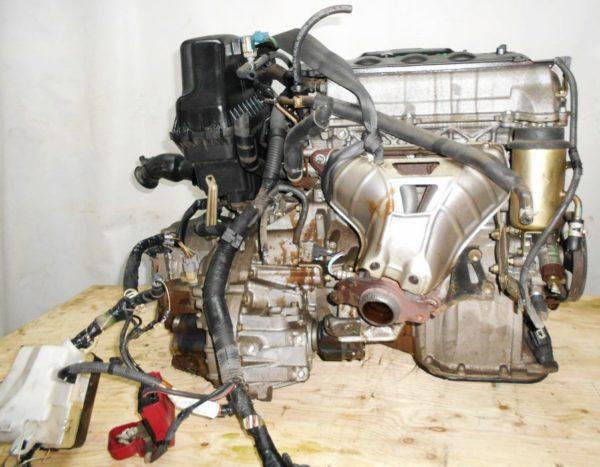 Двигатель Toyota 2NZ-FE - 3393928 AT U441E-03A FF NNP11 128 000 km коса+комп без датчика скорости 4