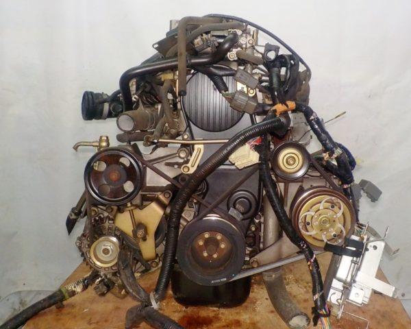 Двигатель Mazda FE - 504242 AT FR SGEW коса+комп 3